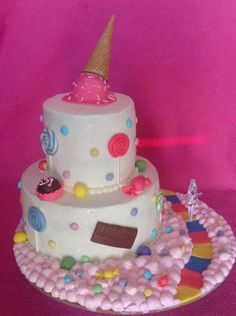 Katy perry theme cake I made not too long ago