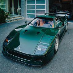 Ferrari F40, Dream Car Garage, Car Goals, Expensive Cars, Car Photography, Future Car, Fuel Economy, Amazing Cars, Fast Cars