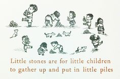 from  A Hole is to Dig by Ruth Krauss, illustrated by Maurice Sendak