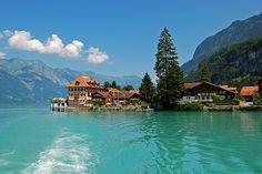 Iseltwald, Brienzersee, Switzerland