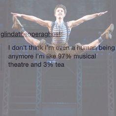 memes, chamomile, another 10 percent nerd, musical theatre. Theatre Jokes, Theatre Problems, Theatre Nerds, Music Theater, Broadway Theatre, Dear Evan Hansen, Girl Humor, Wicked, Fandoms