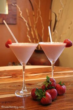 Strawberry Rum Sundae 3 1/2 – 4 oz. Cruzan Strawberry Rum 1 1/2 cups ...