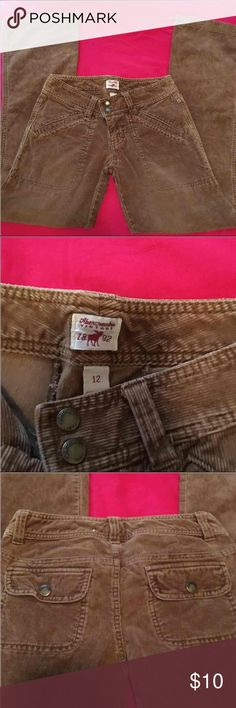 Abercrombie Girls Jeans Brown corduroy Abercrombie pants. Size 12. Super cute, in great condition . Abercrombie & Fitch Bottoms Jeans