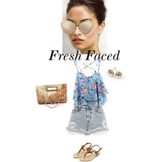 A fashion look from February 2015 featuring River Island shorts, Ippolita earrings and Kate Spade necklaces. Browse and shop related looks.