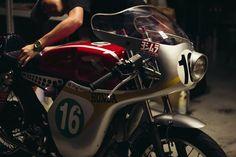 Honda RC166 Replica Cafe Racer 1996 biker custom #motorcycles #caferacer #motos   caferacerpasion.com