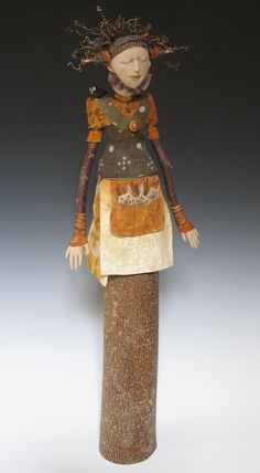 "Akira Blount's ""Wealth of Place"" Art Doll"