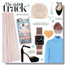 """""""Street Style"""" by sans-moderation ❤ liked on Polyvore featuring Sole Society, Carven, Marco de Vincenzo, Casetify, Jimmy Choo and Bomb Cosmetics"""