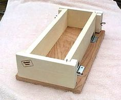 6 pound wooden soap mold