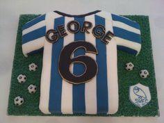 Sheffield Wednesday cake
