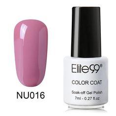 Elite99 7ml Nude Series Gel Polish Varnish Soak Off Nail Gel Semi Permanent Nail Art Manicure Gelpolish New Arrival Gel Lacquer