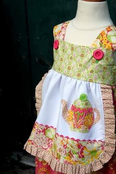 This is such an adorable dress from The Cottage Mama! by melva