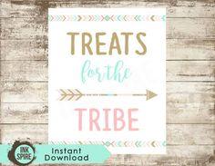tribal birthday decorations