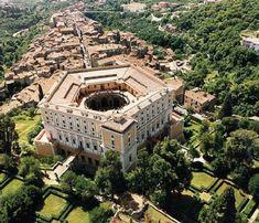 Farnese's Principles Castle at Caprarola (Viterbo)