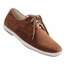 Дерби обувки в кафяв цвят