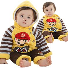 Anlencool Roupas Meninos Free Shipping Winter Children's Clothing Boys Mary Paragraph Explosion Models Baby Cotton Suit
