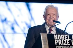 President Jimmy Carter: violence and discrimination against women is #1 human rights violation