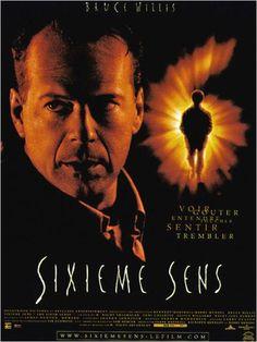Sixième Sens : affiche Bruce Willis, M. Night Shyamalan