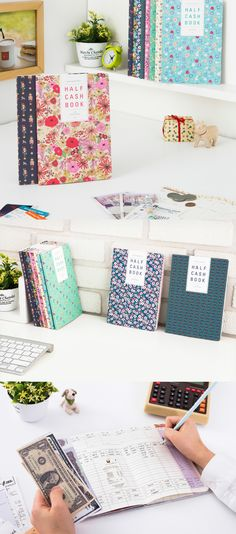 This Semi Year Cash Planner is the perfect financial planner for college students… so many adorable patterns! There's no reason planning your finances shouldn't be cute.