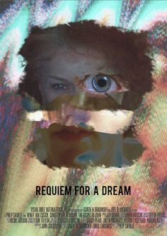 Requiem For a Dream Fan Poster Don John, Requiem For A Dream, Fan Poster, Alternative Movie Posters, Movies And Tv Shows, Movie Tv, Bible, Deco, Image