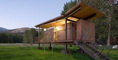 """Rolling Huts"", Washington"