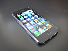 This is a Slate 16GB iPhone 5. And yes, we're giving it away! Who will be the new owner?