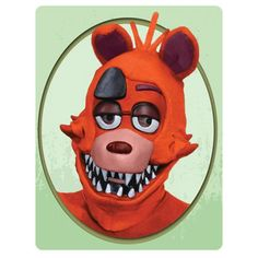 Five Nights at Freddy's Foxy 3/4 Adult Mask - Rubies - Five Nights at Freddys - Costumes at Entertainment Earth