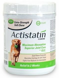 Actistatin Canine Extra Strength Soft Chews Large 120 ct >>> You can find more details by visiting the image link. This is an Amazon Affiliate links.