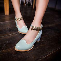 Zapatos rosas de primavera oficinas para mujer z14anlgL