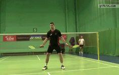 Badminton juggling - 10 shuttlecocks http://roflburger.com #funny #lol #fail