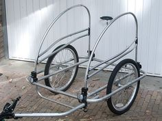 Convert a Child's Bike Trailer into a Cargo Trailer.