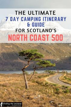 Looking to drive Scotland's North Coast 500 route? This detailed guide to camping on the North Coast 500 has a full seven day itinerary, suggestions on campsites, an route map and loads of suggestions to ensure you have an awesome road trip! Camping Scotland, Scotland Road Trip, Scotland Travel, Scotland Tours, North Coast 500 Scotland, Scottish Tours, Scottish Highlands, Uk Campsites, Travel