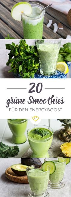 Recipes Snacks Fruit Green smoothies quickly wake up tired spirits. Recipes for smoothies with avocado, mint or basil are available in Springlane magazine. Smoothie Legume, Smoothie Detox, Avocado Smoothie, Smoothie Bowl, Cleanse Detox, Smoothie Menu, Workout Smoothie, Avocado Salad, Avocado Egg