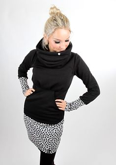 Entdecke lässige und festliche Kleider: Letzte Stücke Gr. M Minikleid KASCHL_1/1Herz made by meko Store via DaWanda.com