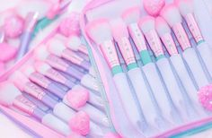 BRUSHBOOK LOVE!It's time to celebrate all things Unicorn and GLAM, Beauty!This weekend only, you can receive my NEW girly pink Glam Makeup Bag... for FREE… when you purchase a Glam Brush Book! They're made with pink love to fit all your daily makeup essentials for glam princesses!✨Buy 1 Brush Book = Get a Sparkle Everyday or Princess Vibes Makeup Bag AND Beauty SpongeBuy 2 Brush Books = Get a Sparkle Everyday or Princess Vibes Makeup Bag AND Beauty Sponge AND Kabo...