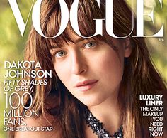 """The actress exudes the effortless cool of an It girl,"" tries Vogue's Hamish Bowles in his interview with February cover girl Dakota Johnson, ""from her Stella McCartney platforms and the eighties Rive Gauche and Ungaro pieces in her wardrobe (recently ferreted out from a vintage store on the Rue de Grenelle) to the discreet skull earrings that were a gift from her mother (Melanie Griffith, if you didn't get the memo; Don Johnson is her father and Antonio Banderas her stepfather)."""