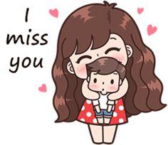 Miss u😔😿soo much 👶khyal rakhna😘