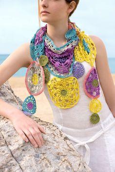 Revista online con patrones de verano de ganchillo y tricot #naturadmc