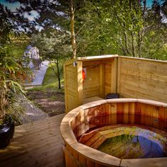 Three of the lodges include hot tubs. Though with 120 guests the demand might get quite high so these could be great locations for the wedding party. Unique Wedding Venues, Brompton, Hot Tubs, North Yorkshire, Lodges, Countryside, Luxury, Outdoor Decor, Party