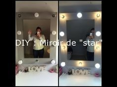 Diy Realiser Un Miroir De Loge Miroir Loge Miroir Et Miroir Lumineux