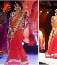 Buy Bollywood malaika Arora khan at iifa Award Lehenga Style saree other-actress-saree online