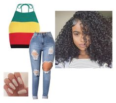 """""""Untitled #220"""" by ariyannanichols-1 ❤ liked on Polyvore featuring Boohoo"""