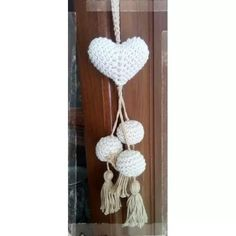 Love Crochet, Crochet Gifts, Diy Crochet, Crochet Flowers, Crochet Toys, Crochet Garland, Crochet Curtains, Free Printable Sewing Patterns, Heart Crafts