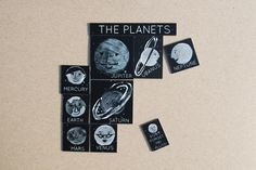 The Planets Magnets. £7.00, via Etsy.