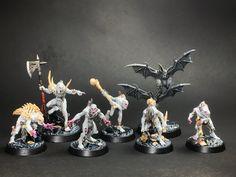 Warhammer Underworlds: Shadespire, Nightvault, and Beastgrave are action-packed combat games for two players. Warhammer Fantasy, Warhammer 40k, Warhammer Vampire Counts, Underworld, Minis, Artwork, Miniatures, Pintura, Work Of Art