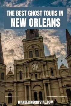 Spend an evening exploring the haunted side of New Orleans with one of the best ghost tours in New Orleans. Ghosts, Vampires and Crime. The best ghost tours in New Orleans, wanderingcrystal, ghost tour New Orleans, spooky things to do in New Orleans, Explore New Orleans, NOLA things to do, Travel NOLA, New Orleans haunted locations, haunted things to do in New Orleans, haunted places in New Orleans, Louisiana things to do, dark history in New Orleans, New Orleans Dark Tourism #NewOrleans…