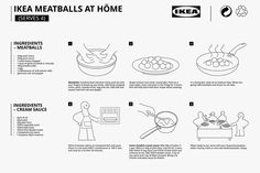 Meatballs are great. But IKEA meatballs are a godsend! For those of you Pandas who have tried IKEA meatballs, you know what I'm talking about. Ikea Meatballs, Veggie Meatballs, Tasty Meatballs, Making Meatballs, Sauce A La Creme, Burger King, Swedish Meatball Recipes, Meat Recipes, Diy Home