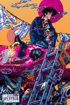 Cowboy Bebop poster - 12 x 18