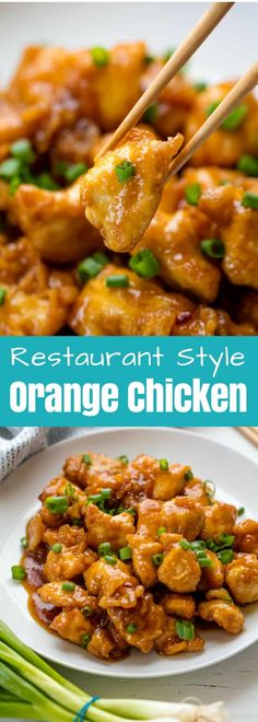 This Orange Chicken Recipe brings Chinese takeout home! It's easy to make and oh so delicious to enjoy this takeout fakeout favorite in the comfort of your own kitchen.  #thestayathomechef #orangechicken