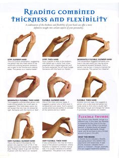 Reading combined thickness and flexability