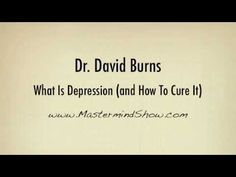 Self help books confidence Counselling Training, How To Cure Depression, Depression Treatment, Mental Health Issues, David Burns, Positive Thoughts, Self Help, Natural Remedies
